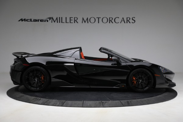 Used 2020 McLaren 600LT Spider for sale Call for price at Rolls-Royce Motor Cars Greenwich in Greenwich CT 06830 9