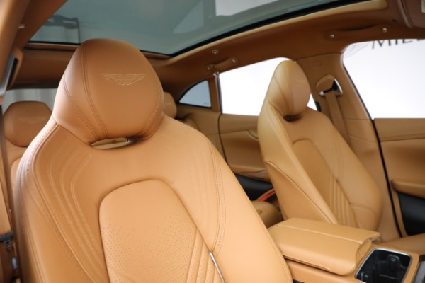 New 2021 Aston Martin DBX for sale $203,886 at Rolls-Royce Motor Cars Greenwich in Greenwich CT 06830 18