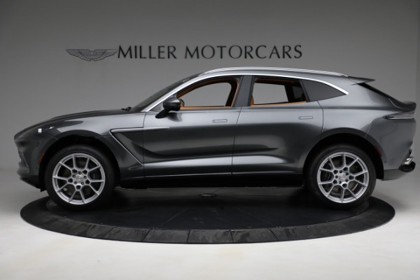 New 2021 Aston Martin DBX for sale $203,886 at Rolls-Royce Motor Cars Greenwich in Greenwich CT 06830 2
