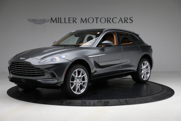 New 2021 Aston Martin DBX for sale $203,886 at Rolls-Royce Motor Cars Greenwich in Greenwich CT 06830 1