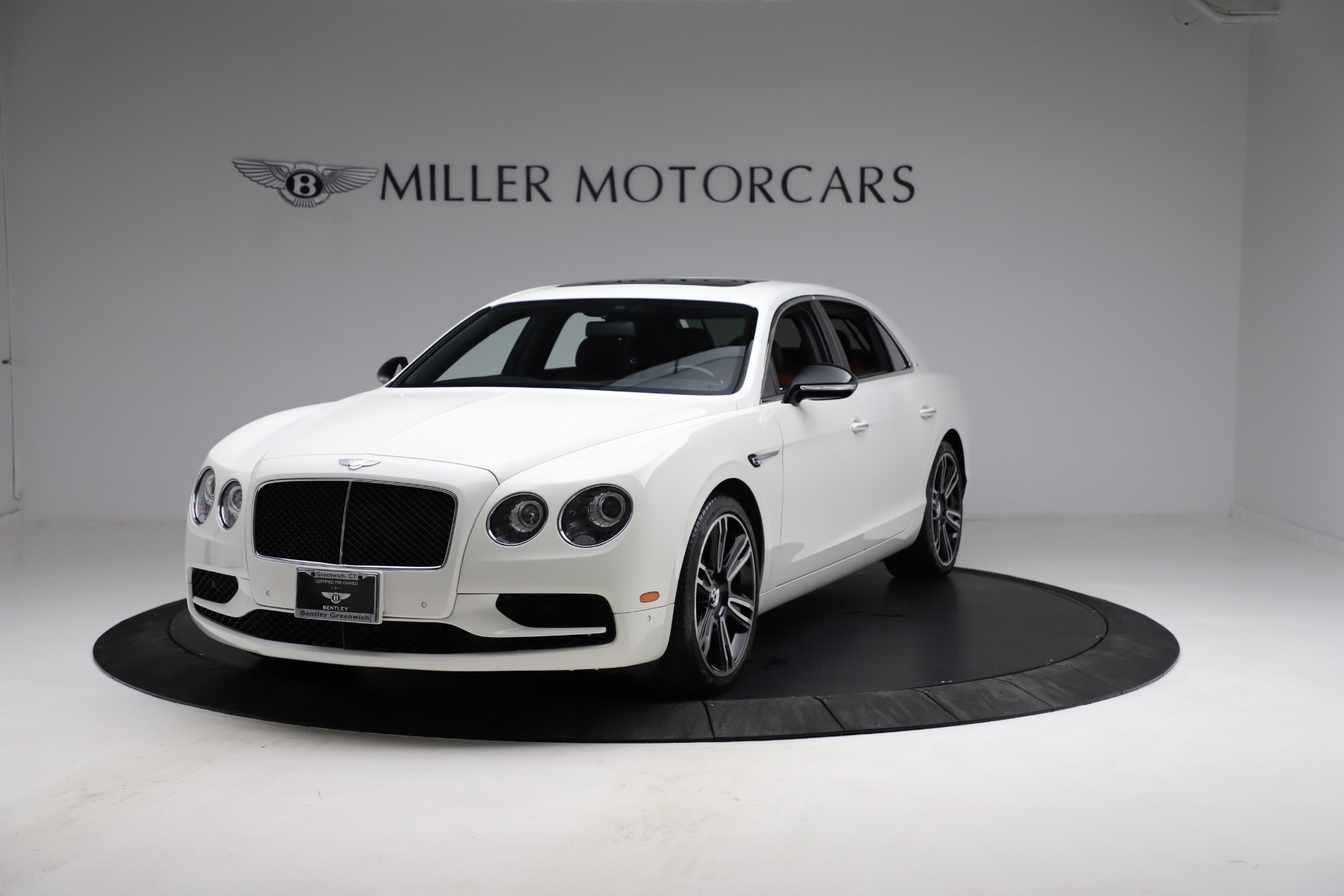 New 2017 Bentley Flying Spur V8 S for sale Sold at Rolls-Royce Motor Cars Greenwich in Greenwich CT 06830 1