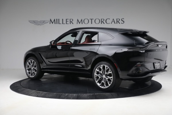 New 2021 Aston Martin DBX for sale $200,686 at Rolls-Royce Motor Cars Greenwich in Greenwich CT 06830 3