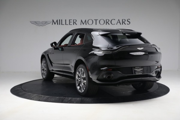 New 2021 Aston Martin DBX for sale $200,686 at Rolls-Royce Motor Cars Greenwich in Greenwich CT 06830 4