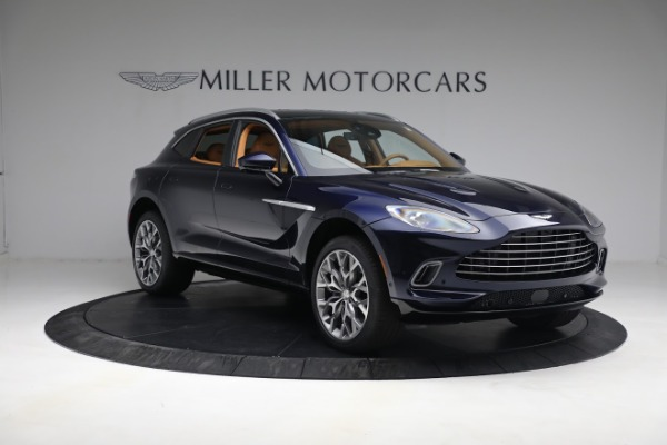 New 2021 Aston Martin DBX for sale $209,586 at Rolls-Royce Motor Cars Greenwich in Greenwich CT 06830 10