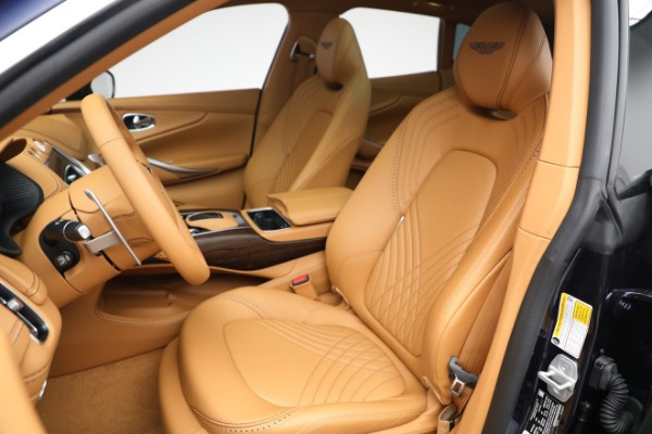 New 2021 Aston Martin DBX for sale $209,586 at Rolls-Royce Motor Cars Greenwich in Greenwich CT 06830 15