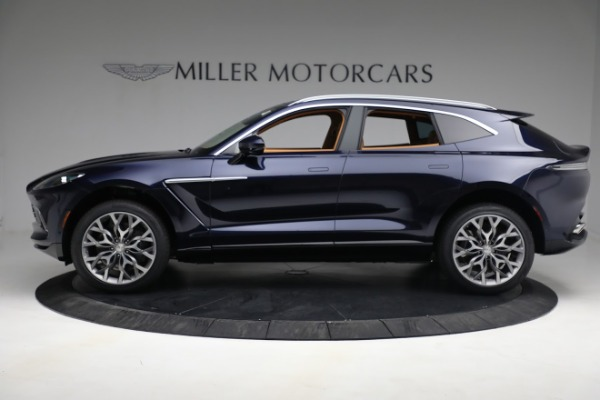 New 2021 Aston Martin DBX for sale $209,586 at Rolls-Royce Motor Cars Greenwich in Greenwich CT 06830 2