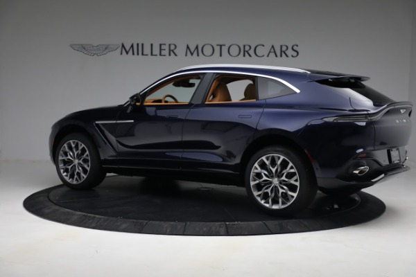 New 2021 Aston Martin DBX for sale $209,586 at Rolls-Royce Motor Cars Greenwich in Greenwich CT 06830 3