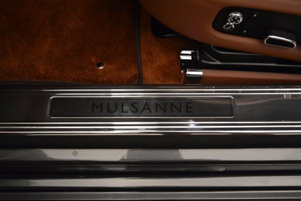 New 2017 Bentley Mulsanne for sale Sold at Rolls-Royce Motor Cars Greenwich in Greenwich CT 06830 21