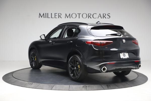 New 2021 Alfa Romeo Stelvio Ti for sale $51,955 at Rolls-Royce Motor Cars Greenwich in Greenwich CT 06830 5