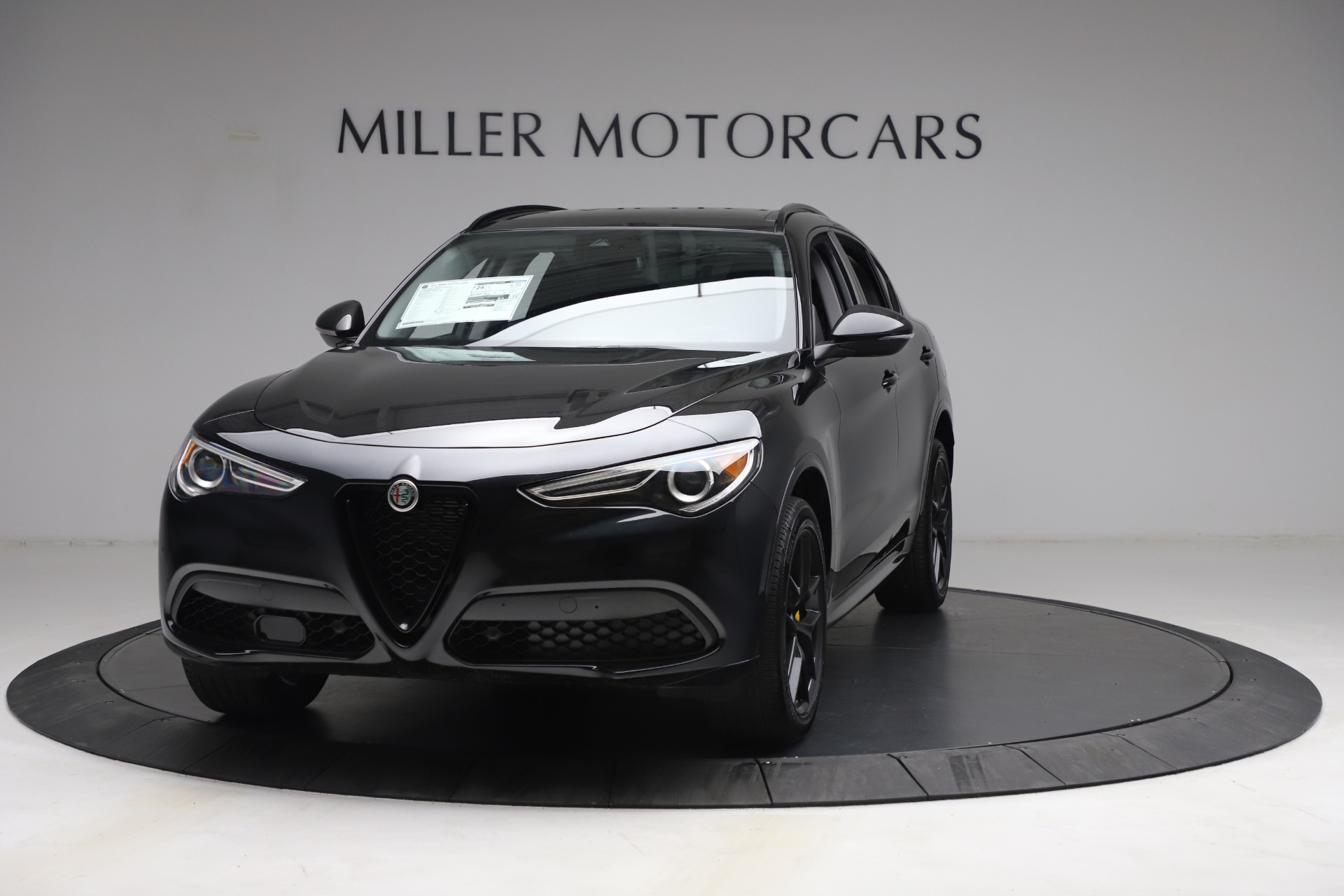 New 2021 Alfa Romeo Stelvio Ti for sale $51,955 at Rolls-Royce Motor Cars Greenwich in Greenwich CT 06830 1
