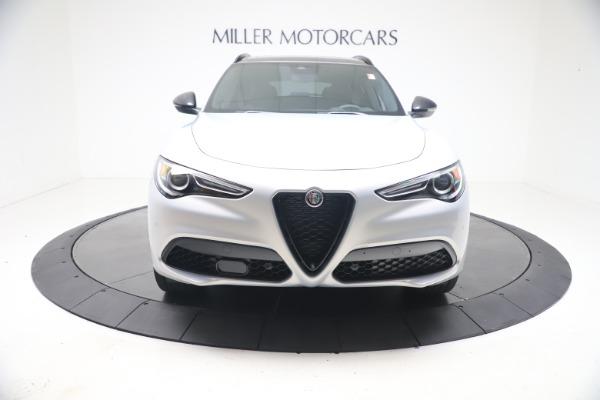 New 2021 Alfa Romeo Stelvio Ti Sport Q4 for sale $57,200 at Rolls-Royce Motor Cars Greenwich in Greenwich CT 06830 12