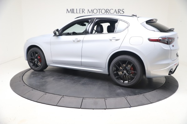 New 2021 Alfa Romeo Stelvio Ti Sport Q4 for sale $57,200 at Rolls-Royce Motor Cars Greenwich in Greenwich CT 06830 4