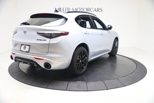 New 2021 Alfa Romeo Stelvio Ti Sport Q4 for sale $57,200 at Rolls-Royce Motor Cars Greenwich in Greenwich CT 06830 7