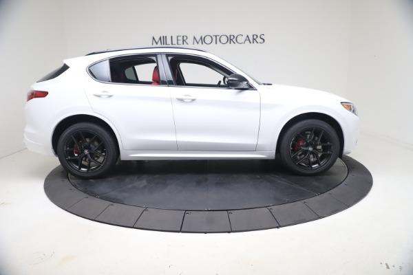 New 2021 Alfa Romeo Stelvio Ti Q4 for sale $53,740 at Rolls-Royce Motor Cars Greenwich in Greenwich CT 06830 10