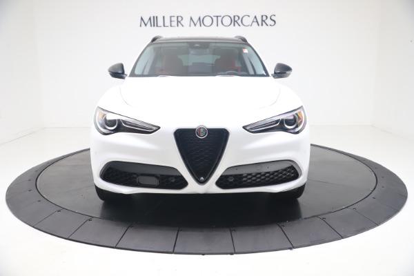 New 2021 Alfa Romeo Stelvio Ti Q4 for sale $53,740 at Rolls-Royce Motor Cars Greenwich in Greenwich CT 06830 13