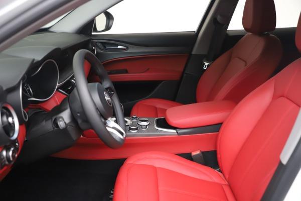 New 2021 Alfa Romeo Stelvio Ti Q4 for sale $53,740 at Rolls-Royce Motor Cars Greenwich in Greenwich CT 06830 15