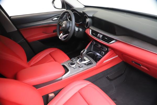 New 2021 Alfa Romeo Stelvio Ti Q4 for sale $53,740 at Rolls-Royce Motor Cars Greenwich in Greenwich CT 06830 19