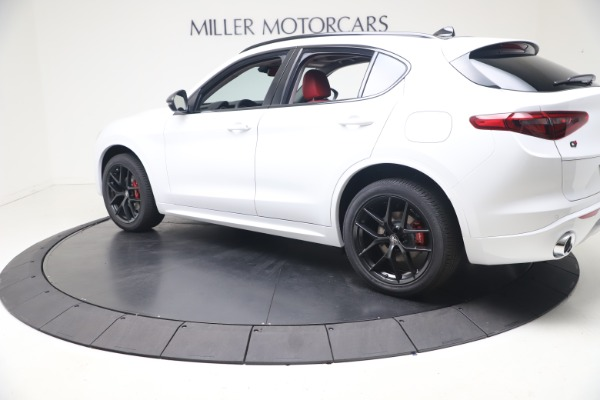 New 2021 Alfa Romeo Stelvio Ti Q4 for sale $53,740 at Rolls-Royce Motor Cars Greenwich in Greenwich CT 06830 4
