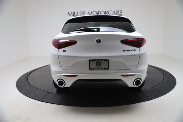 New 2021 Alfa Romeo Stelvio Ti Q4 for sale $53,740 at Rolls-Royce Motor Cars Greenwich in Greenwich CT 06830 6