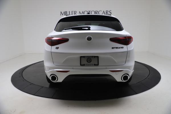 New 2021 Alfa Romeo Stelvio Ti Q4 for sale $53,740 at Rolls-Royce Motor Cars Greenwich in Greenwich CT 06830 7