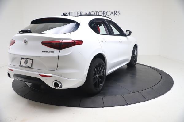 New 2021 Alfa Romeo Stelvio Ti Q4 for sale $53,740 at Rolls-Royce Motor Cars Greenwich in Greenwich CT 06830 8