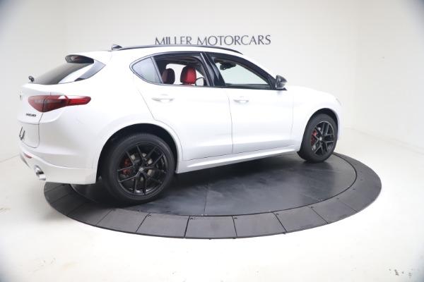 New 2021 Alfa Romeo Stelvio Ti Q4 for sale $53,740 at Rolls-Royce Motor Cars Greenwich in Greenwich CT 06830 9