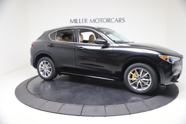 New 2021 Alfa Romeo Stelvio Ti Q4 for sale $54,755 at Rolls-Royce Motor Cars Greenwich in Greenwich CT 06830 10