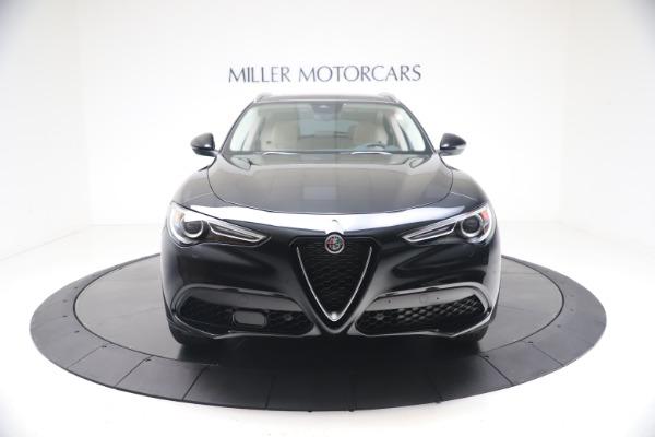 New 2021 Alfa Romeo Stelvio Ti Q4 for sale $54,755 at Rolls-Royce Motor Cars Greenwich in Greenwich CT 06830 12