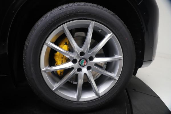 New 2021 Alfa Romeo Stelvio Ti Q4 for sale $54,755 at Rolls-Royce Motor Cars Greenwich in Greenwich CT 06830 13