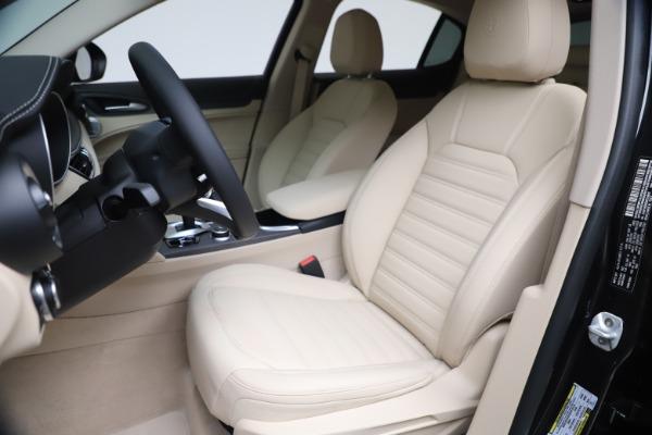 New 2021 Alfa Romeo Stelvio Ti Q4 for sale $54,755 at Rolls-Royce Motor Cars Greenwich in Greenwich CT 06830 17