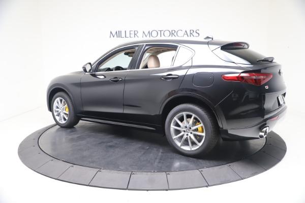 New 2021 Alfa Romeo Stelvio Ti Q4 for sale $54,755 at Rolls-Royce Motor Cars Greenwich in Greenwich CT 06830 4