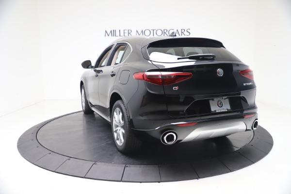 New 2021 Alfa Romeo Stelvio Ti Q4 for sale $54,755 at Rolls-Royce Motor Cars Greenwich in Greenwich CT 06830 5
