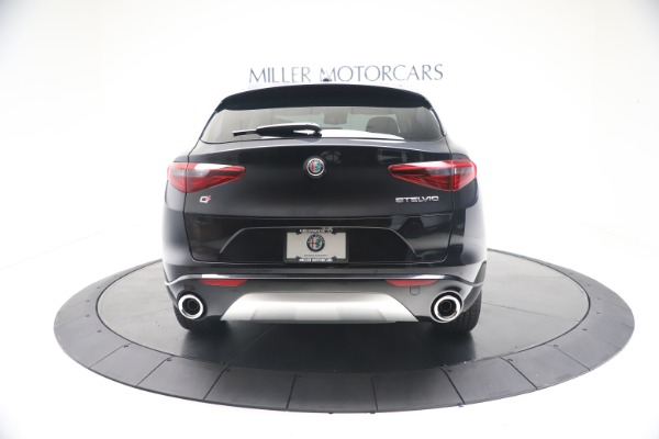 New 2021 Alfa Romeo Stelvio Ti Q4 for sale $54,755 at Rolls-Royce Motor Cars Greenwich in Greenwich CT 06830 6