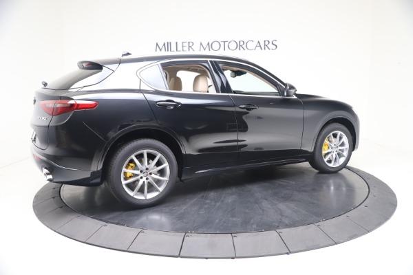 New 2021 Alfa Romeo Stelvio Ti Q4 for sale $54,755 at Rolls-Royce Motor Cars Greenwich in Greenwich CT 06830 8