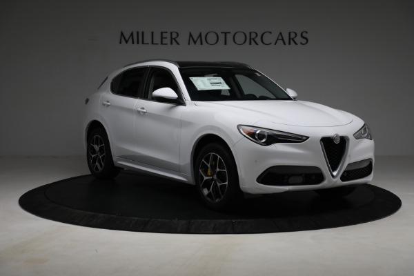 New 2021 Alfa Romeo Stelvio Ti Q4 for sale $54,840 at Rolls-Royce Motor Cars Greenwich in Greenwich CT 06830 11