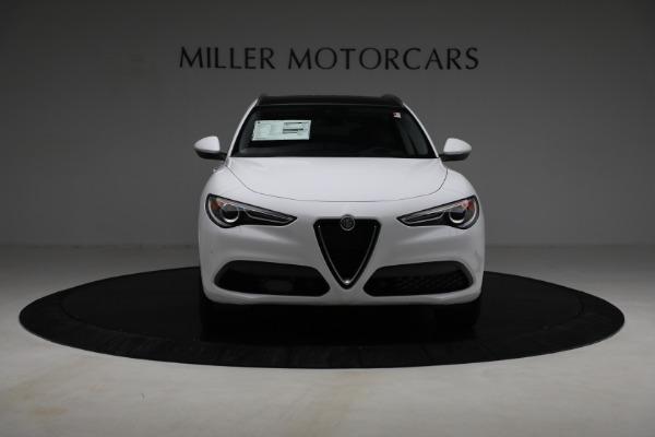 New 2021 Alfa Romeo Stelvio Ti Q4 for sale $54,840 at Rolls-Royce Motor Cars Greenwich in Greenwich CT 06830 12