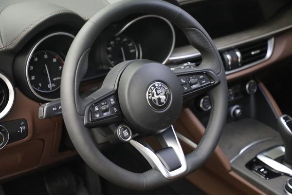 New 2021 Alfa Romeo Stelvio Ti Q4 for sale $54,840 at Rolls-Royce Motor Cars Greenwich in Greenwich CT 06830 17