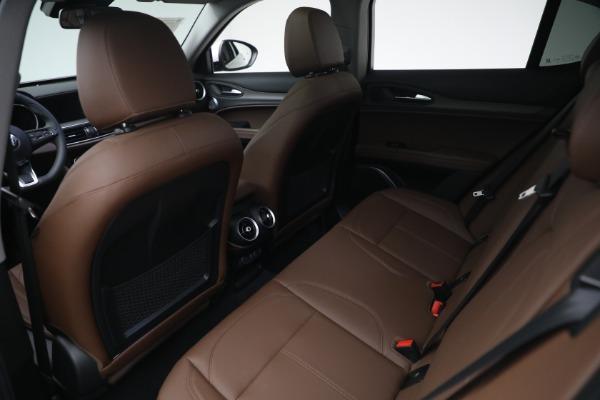 New 2021 Alfa Romeo Stelvio Ti Q4 for sale $54,840 at Rolls-Royce Motor Cars Greenwich in Greenwich CT 06830 22