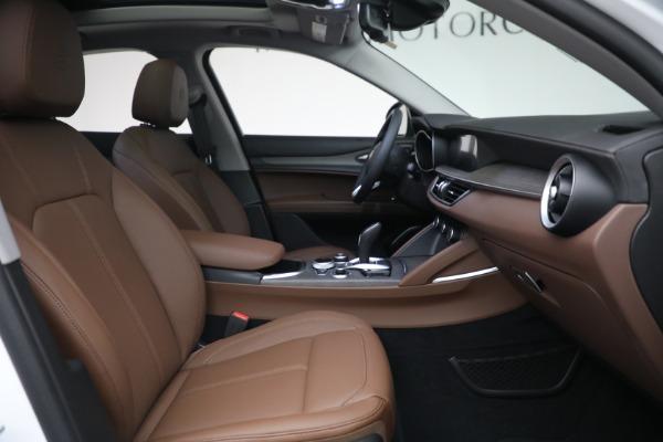 New 2021 Alfa Romeo Stelvio Ti Q4 for sale $54,840 at Rolls-Royce Motor Cars Greenwich in Greenwich CT 06830 28