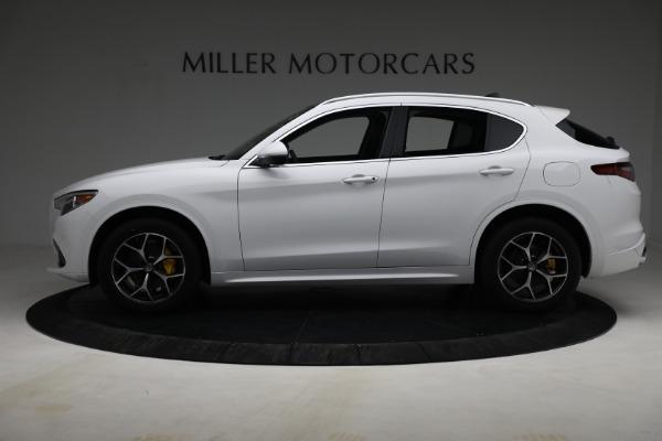 New 2021 Alfa Romeo Stelvio Ti Q4 for sale $54,840 at Rolls-Royce Motor Cars Greenwich in Greenwich CT 06830 3