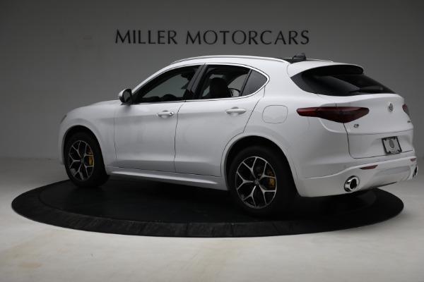 New 2021 Alfa Romeo Stelvio Ti Q4 for sale $54,840 at Rolls-Royce Motor Cars Greenwich in Greenwich CT 06830 4