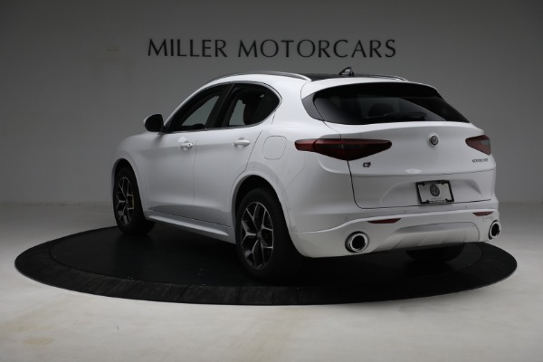 New 2021 Alfa Romeo Stelvio Ti Q4 for sale $54,840 at Rolls-Royce Motor Cars Greenwich in Greenwich CT 06830 5
