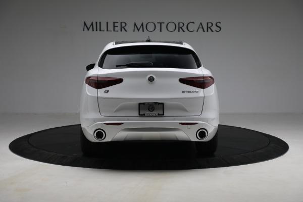 New 2021 Alfa Romeo Stelvio Ti Q4 for sale $54,840 at Rolls-Royce Motor Cars Greenwich in Greenwich CT 06830 6