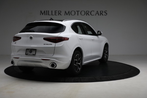 New 2021 Alfa Romeo Stelvio Ti Q4 for sale $54,840 at Rolls-Royce Motor Cars Greenwich in Greenwich CT 06830 7