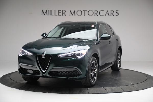 New 2021 Alfa Romeo Stelvio Ti Q4 for sale $51,950 at Rolls-Royce Motor Cars Greenwich in Greenwich CT 06830 1