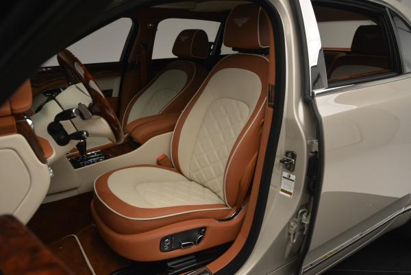 Used 2016 Bentley Mulsanne Speed for sale Sold at Rolls-Royce Motor Cars Greenwich in Greenwich CT 06830 23
