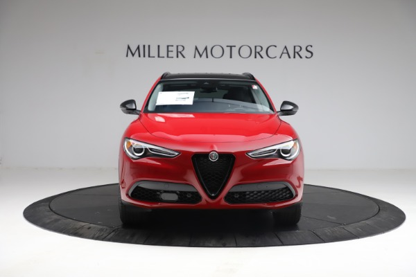 New 2021 Alfa Romeo Stelvio Q4 for sale $50,535 at Rolls-Royce Motor Cars Greenwich in Greenwich CT 06830 15