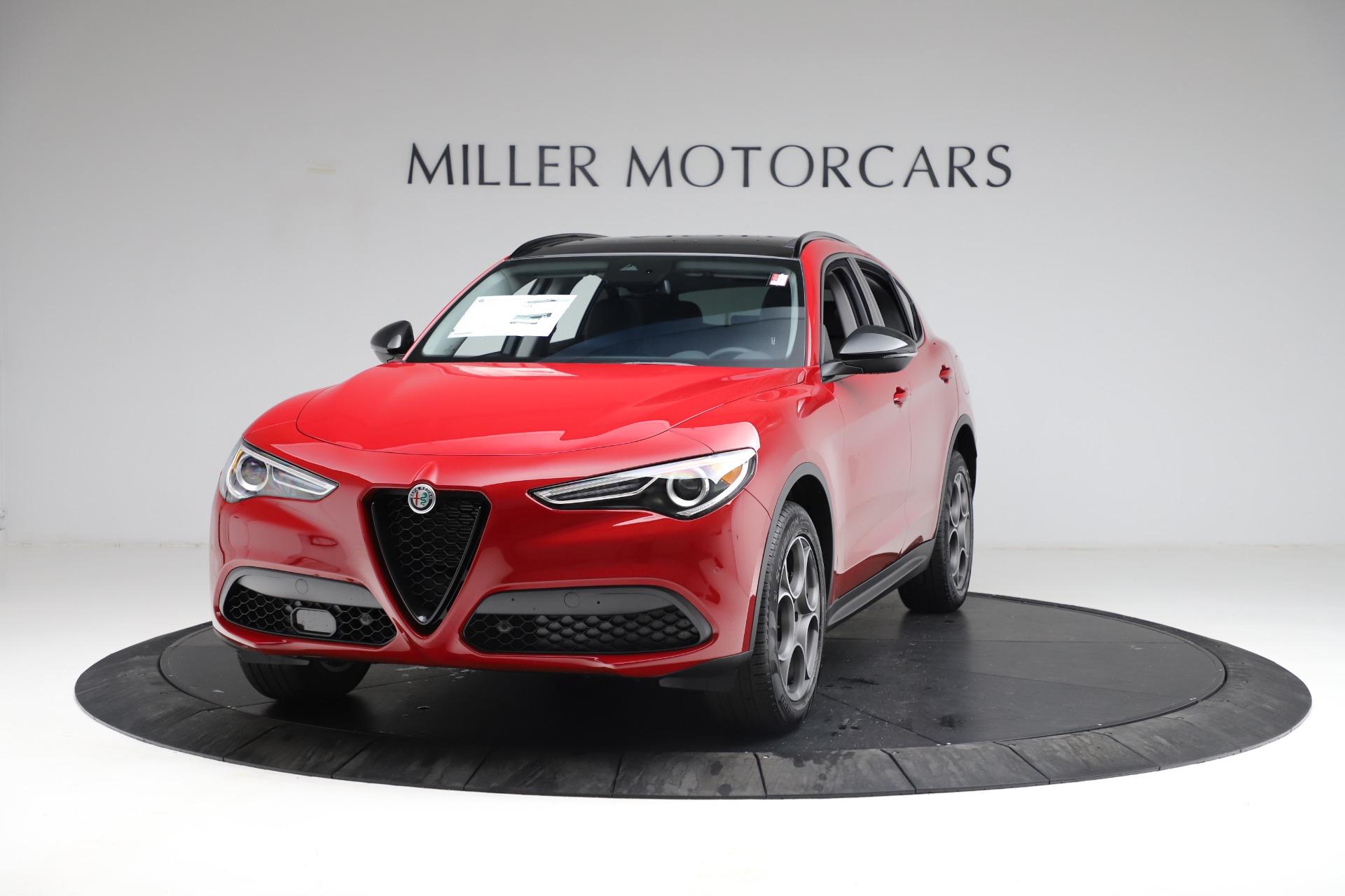 New 2021 Alfa Romeo Stelvio Q4 for sale $50,535 at Rolls-Royce Motor Cars Greenwich in Greenwich CT 06830 1