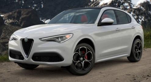 New 2021 Alfa Romeo Stelvio Ti Sport Q4 for sale $54,740 at Rolls-Royce Motor Cars Greenwich in Greenwich CT 06830 1