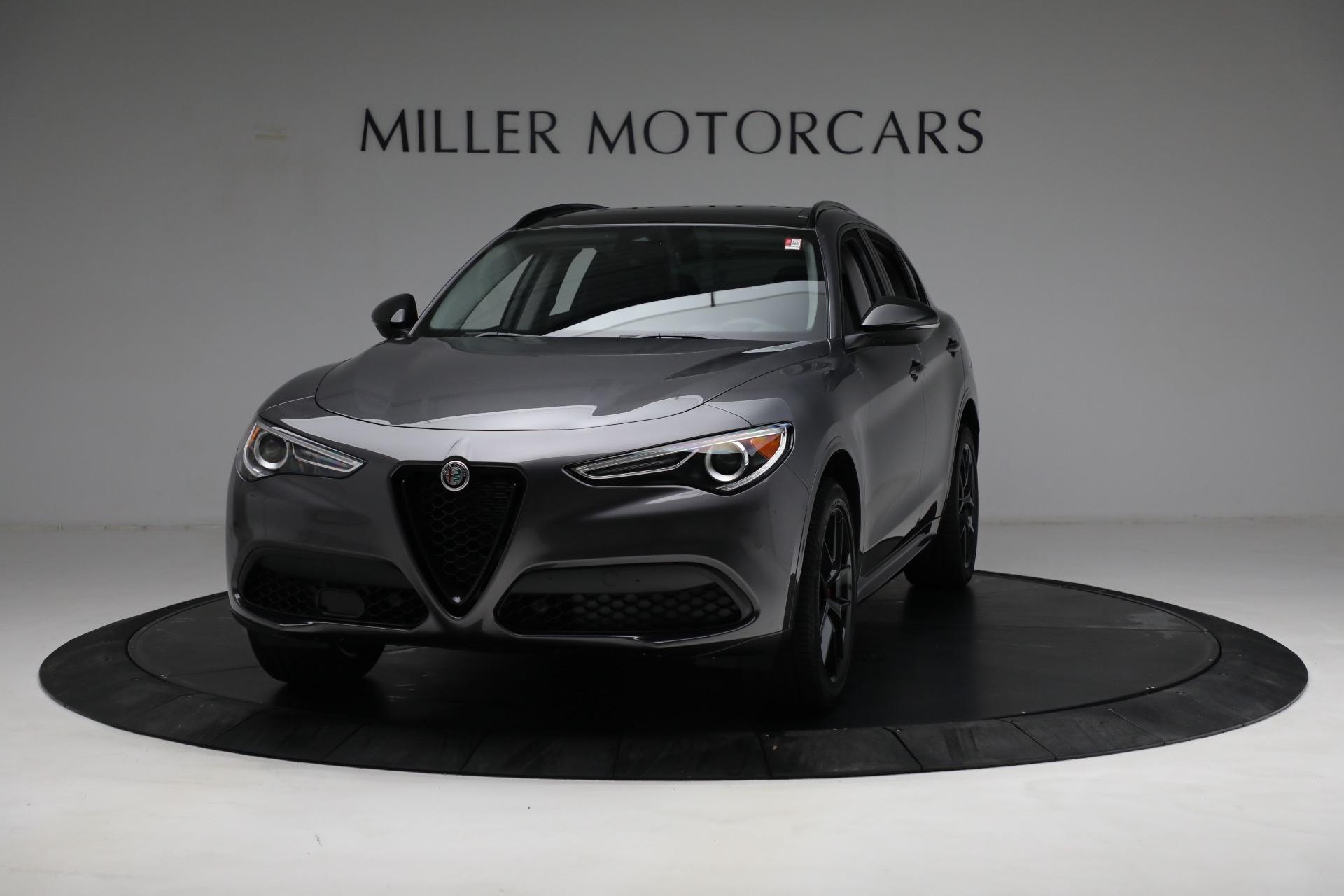 New 2021 Alfa Romeo Stelvio Ti Q4 for sale $52,705 at Rolls-Royce Motor Cars Greenwich in Greenwich CT 06830 1